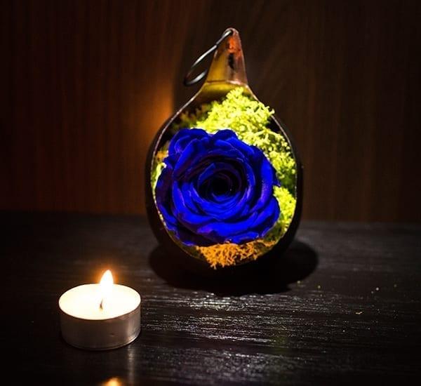 aranjament trandafiri criogenati ieftini