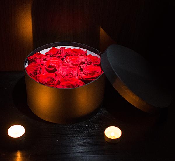 trandafiri prezervati